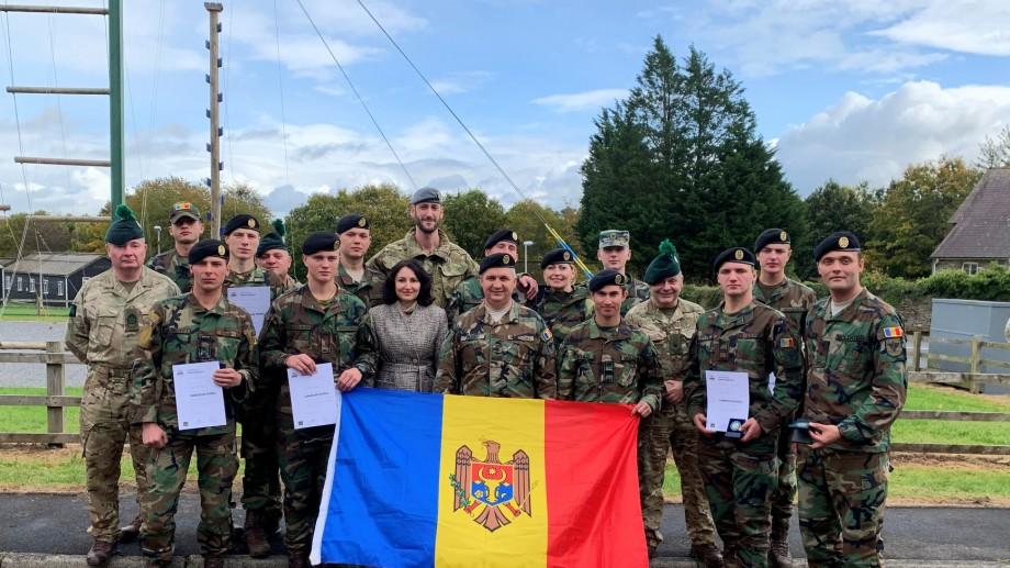 """(foto) Argint pentru studenţii militari la """"Cambrian Patrol 2019"""" din Ţara Galilor"""