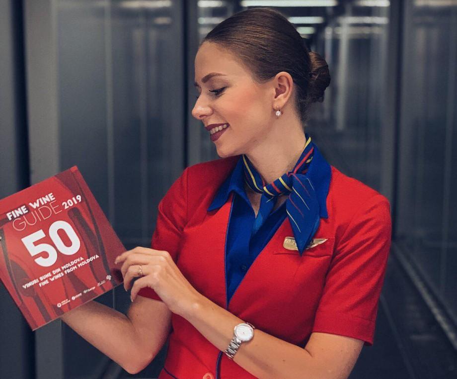 (foto) Pasagerii companiei Air Moldova vor putea citi în timpul zborului noua ediție a Fine Wine Guide 2019