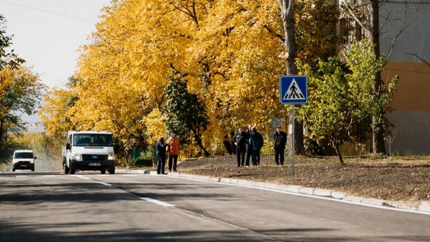 (foto) La Orhei a fost dat în exploatare încă un drum reparat capital care asigură accesul la singura grădiniță din sectorul de Nord al orașului