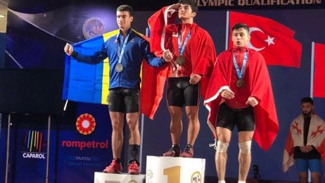 Halterofilul moldovean Marin Robu a devenit vicecampion european printre juniori