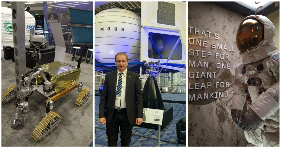 (foto) Universitatea Tehnică a Moldovei participă la Congresul Astronautic Internațional