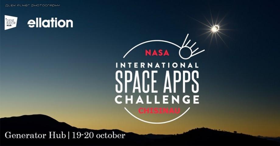 Pentru prima dată în Chișinău se va desfășura hackathonul Space Apps International Challenge by NASA