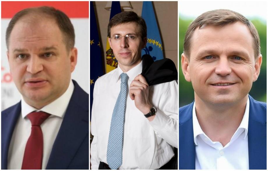 Rezultate preliminare la Chișinău: Ceban, Năstase și Chirtoacă printre lideri