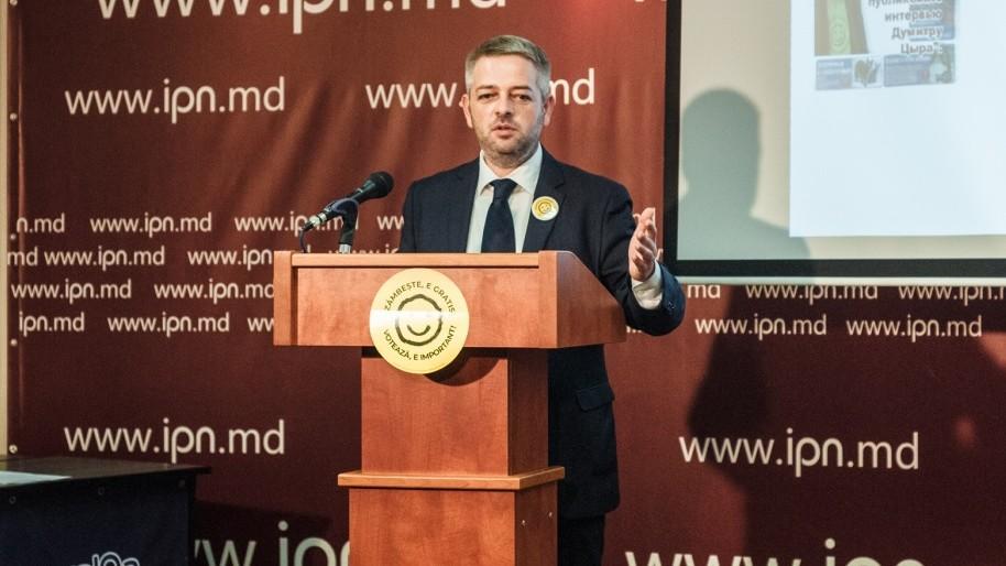"""Dumitru Țîra: """"Există o înțelegere ascunsă între Ceban și Năstase în această campanie electorală"""""""