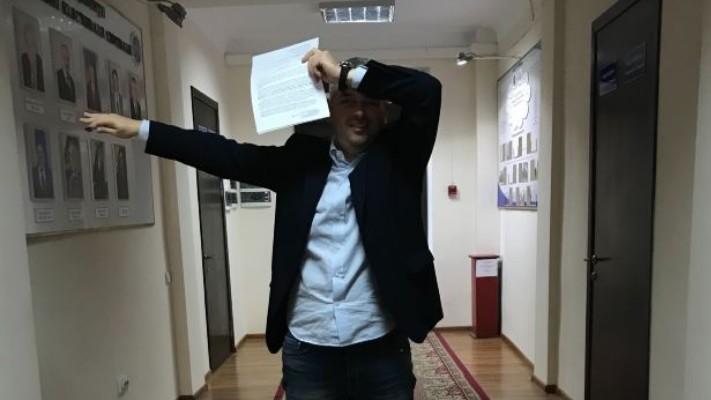 Dumitru Țîra a depus două sesizări la Judecătoria Chișinău pentru excluderea din cursa electorală a lui Ceban și Năstase