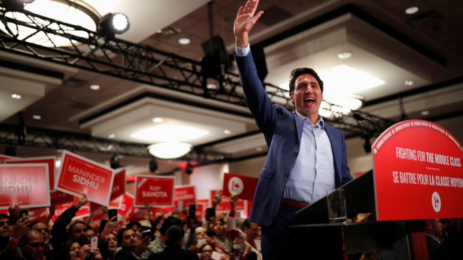 A primit mai multe amenințări. Premierul canadian Justin Trudeau a fost nevoit să poarte o vestă antiglonţ