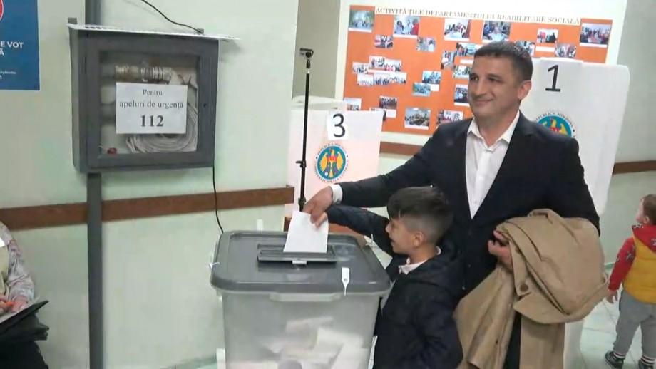 (video) Vlad Țurcanu a votat pentru un oraș cu atmosferă pozitivă