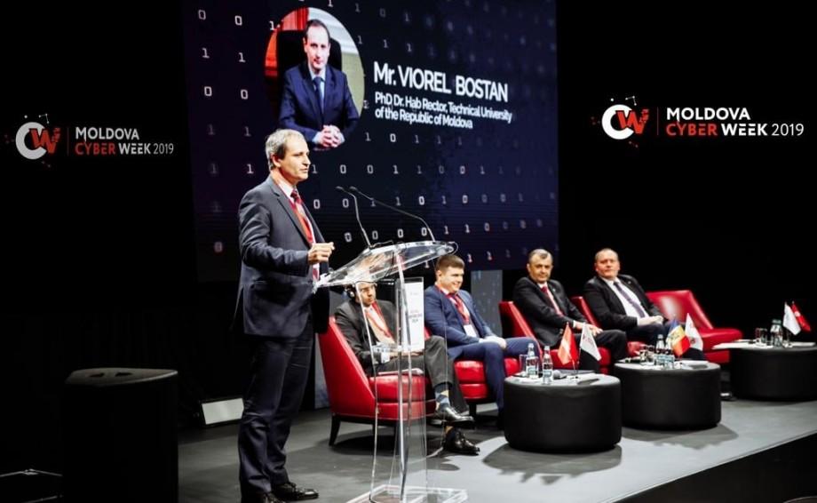 """Viorel Bostan: """"Securitatea cibernetică constituie o oportunitate pentru universități"""""""