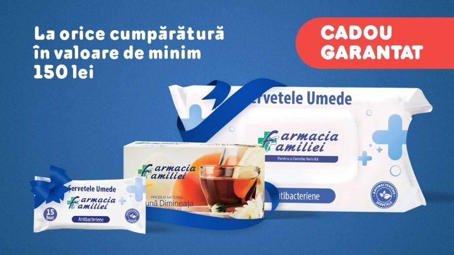 Farmacia Familiei te răsplătește pentru fidelitate cu cadouri garantate!
