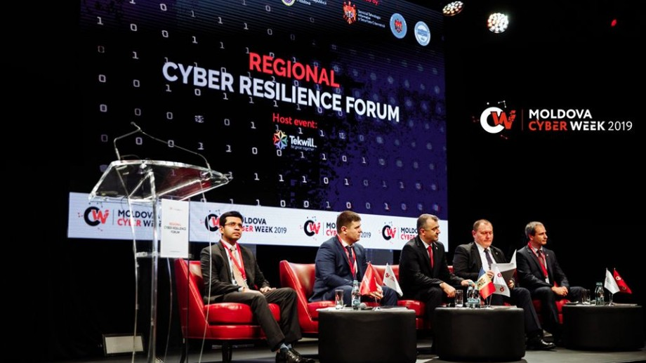 "(foto) Cea de a șaptea ediție a Forumului ""Moldova Cyber Week"" s-a deschis la Tekwill"
