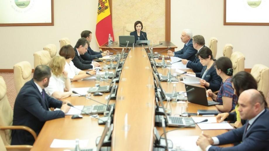 (video live) Prim-ministra în exercițiu, Maia Sandu, convoacă ședință de guvern