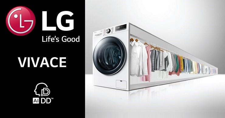 (foto, video) LG VIVACE: comoditatea inegalabilă a mașinii de spălat
