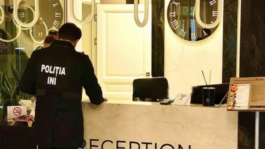 (video) Percheziții la o rețea hotelieră din Capitală. Au fost ridicați bani și acte, iar o încăpere a fost sigilată