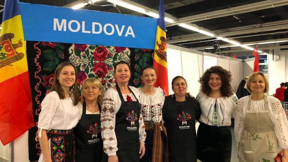 (foto) Diaspora din Austria a prezentat cultura moldovenească la un festival internațional