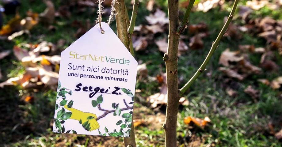 """Clienții StarNet au """"adoptat"""" primii 150 de copaci. Totalurile primului eveniment marca StarNet Verde – """"Adoptă un Copac"""""""