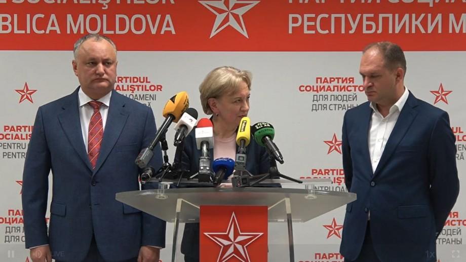 """(live) Dodon după victoria lui Ceban: """"Niciun fel de euforie!"""""""