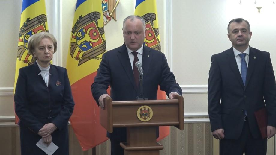 (video) Igor Dodon promite majorări de pensii, salarii și indemnizații. Bilanțul întâlnirii cu Greceanîi și Chicu