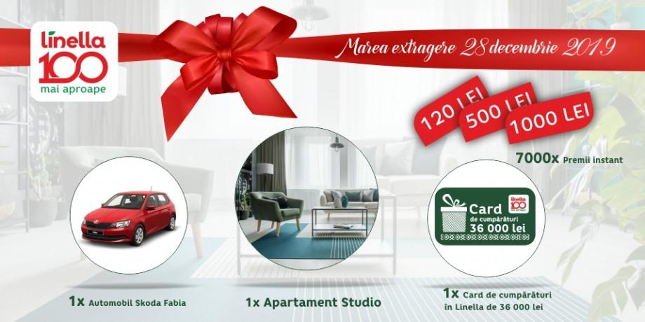 O mie de norocoși au primit premii de la Linella: În decembrie va avea loc marea tombolă la care poți câștiga un apartament, o mașină sau un voucher de 36 de mii de lei