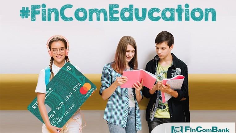FinComBank lansează campania națională #FinComEducation pentru elevi