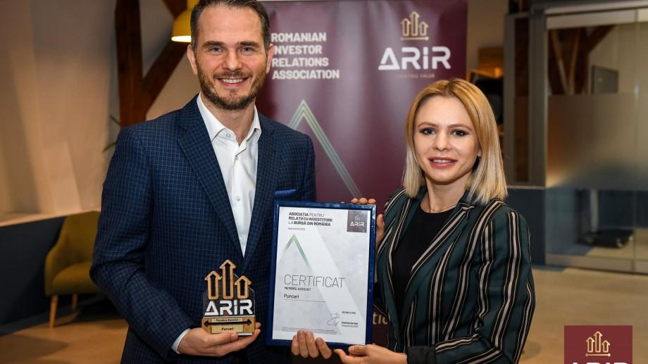 Purcari, prima companie din Moldova care s-a alăturat Asociației pentru Relații cu Investitorii la Bursă din România