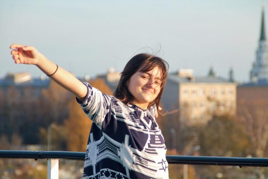 (foto) Universitatea #diez. Cu autobuzul 24, către căminul Ioanei Vatamanu-Mărgineanu. Cum arată o zi din viața studentei la Riga