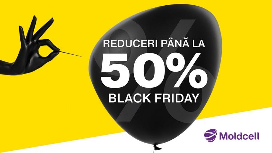 (video) De Black Friday, ai reduceri online de până la -50 % la Moldcell