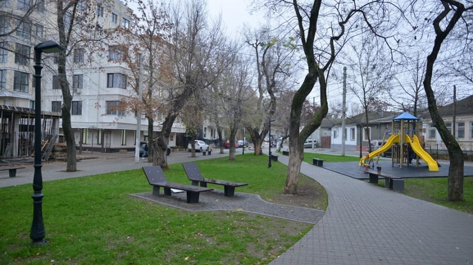 """(foto) Scuarul """"George Coșbuc"""" a fost inaugurat după renovare. Cum arată acesta"""