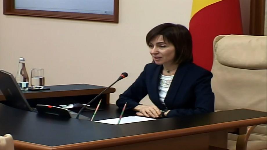 """(video) Maia Sandu: """"Se pare că asta a fost ultima ședință a acestui guvern"""""""