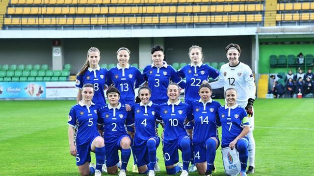 Victorie pentru naționala feminină de fotbal a Moldovei. Tricolorele au învins echipa Azerbaidjanului