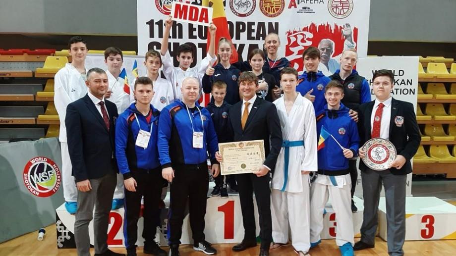 Moldova s-a clasat pe locul IV în clasamentul pe medalii la Campionatul European de karate WSF