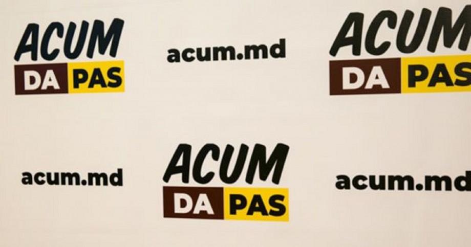 Blocul ACUM s-a separat în două fracțiuni. Despărțirea nu a fost coordonată între partide