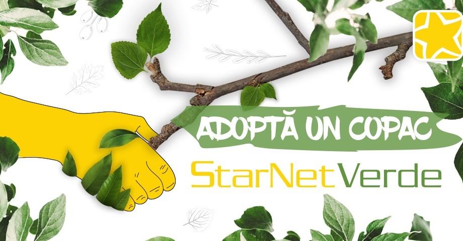 """""""Adoptă un copac"""" – acțiunea de plantare de copaci inițiată de StarNet"""