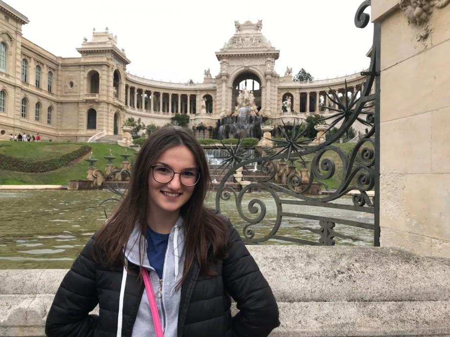 Universitatea #diez. Cum se învață Economie la Marsilia și ce obiecte de studiu are Anastasia Mocanu în primul semestru
