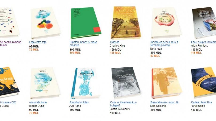 Vinerea neagră. Listă cărților care se vor vinde la jumătate de preț în Librăriile Cartier