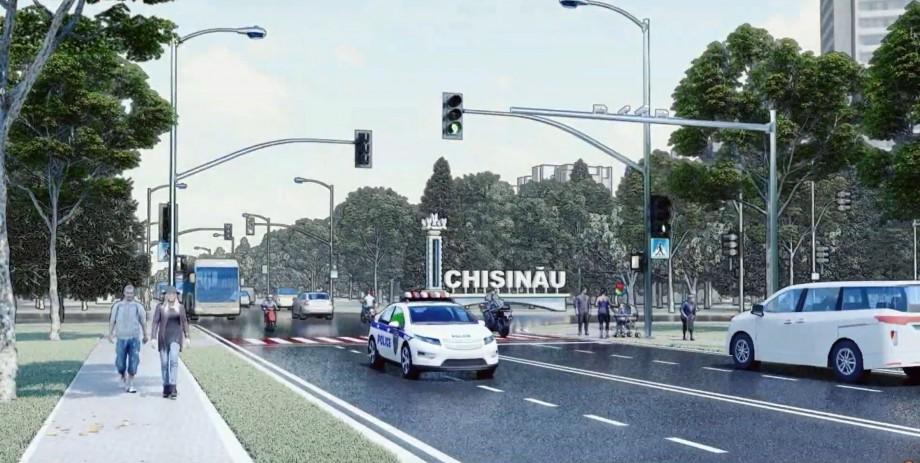 (video) Chișinăul din spoturile lui Ceban: Centură rutieră, piste pentru bicicliști, parcări supraetajate și oraș smart