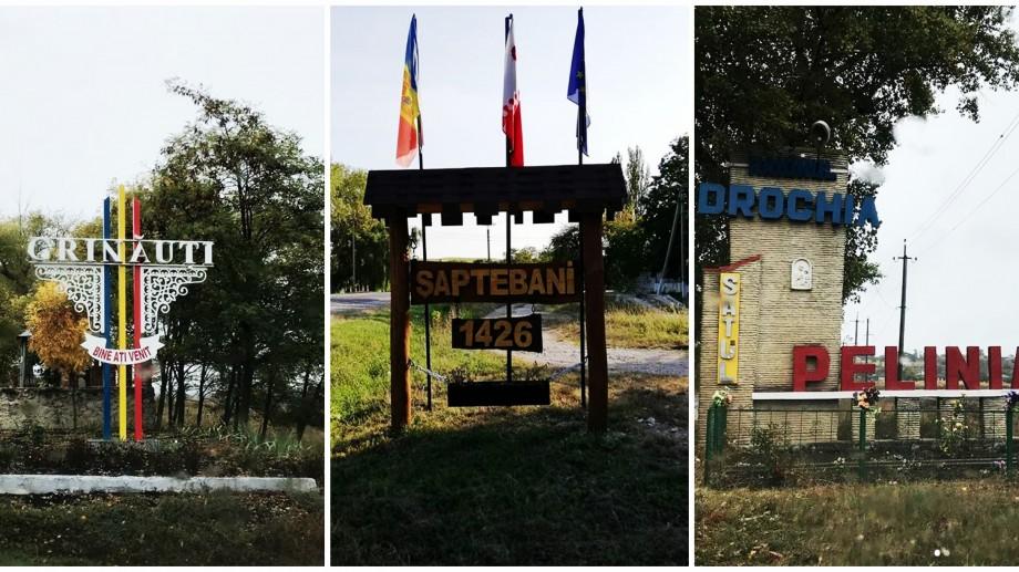 """(foto) """"Bun venitul"""" colorat de la marginea satului. Pagina de Instagram unde poți călători virtual prin localitățile din țară"""