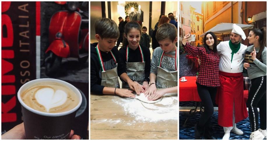 (foto) Cu pași tarantela, cafea aromată și mozzarella delicioasă, bucătăria italiană a ajuns la Chișinău