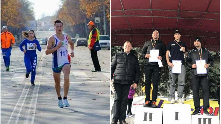 """Un polițist de frontieră, campion la cursa de alergări """"Tinerețe – 2019"""". Ce rezultat a înregistrat maratonistul"""