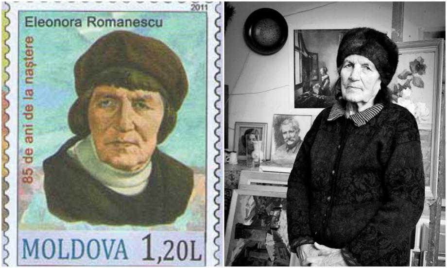 Renumita artistă plastică din Moldova Eleonora Romanescu a decedat
