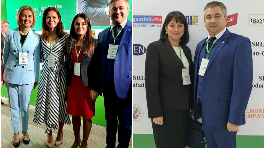 (foto) Prorectorul UTM Dinu Țurcanu prezent în cadrul The International Investment Forum Invest Gagauzia 360, ediția V-a