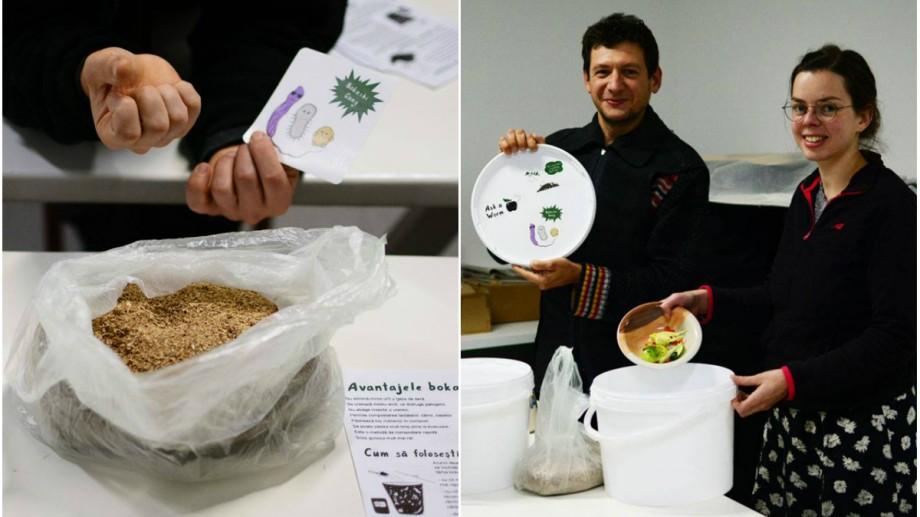 """Ask a Worm: proiectul care """"gătește"""" hrană pentru viermi și promovează compostarea urbană"""