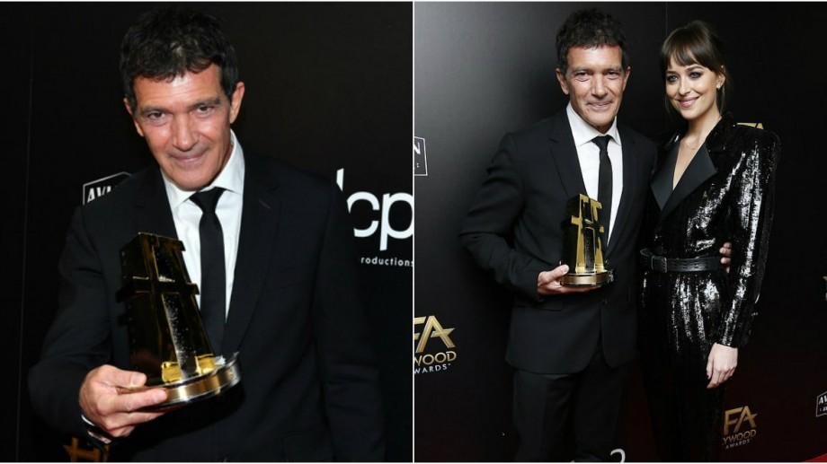 Antonio Banderas a fost recompensat cu premiul pentru cel mai bun actor la gala Hollywood Film Awards
