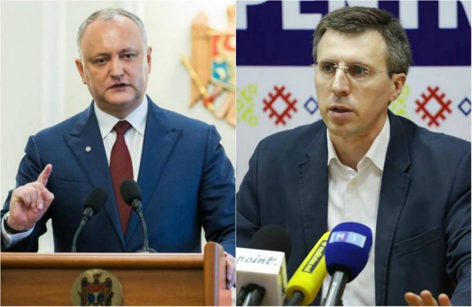 Partidul Liberal a depus un demers în parlament prin care cere suspendarea din funcție a lui Igor Dodon