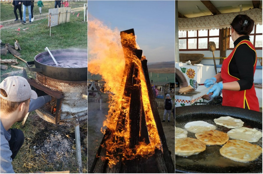 """(foto) Bucate tradiționale, vin fiert și foc de tabără. Cum s-a desfășurat cea de a treia ediție a """"Picnicului Anului"""""""