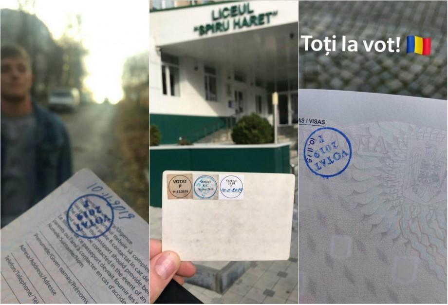 (foto) Cum se vede participarea cetățenilor români din Moldova la alegerile președintelui României pe rețele sociale