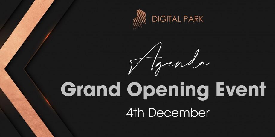 Programul evenimentului de lansare Digital Park. Despre investiții, inovații și infrastructuri IT cu speakeri locali și internaționali