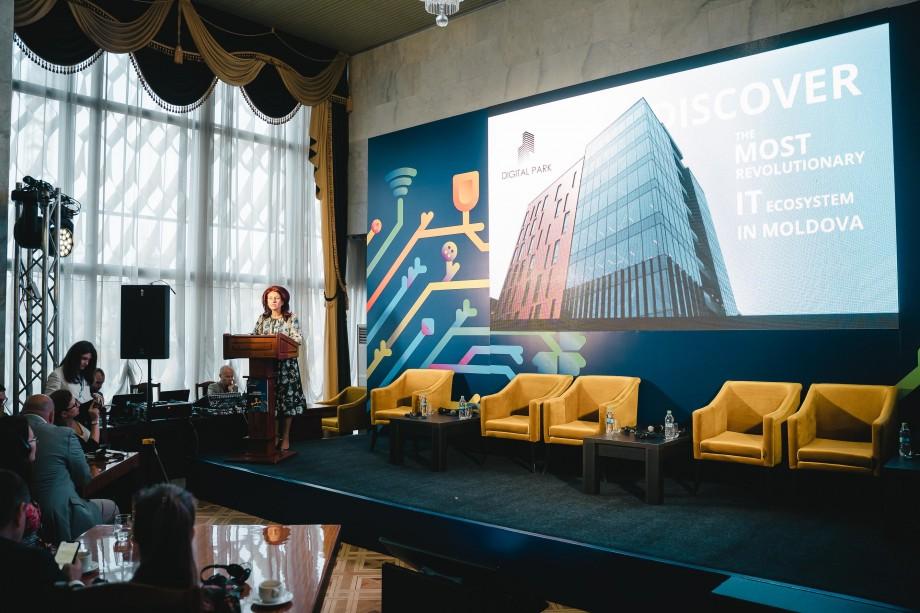 Prezentarea conceptului fazei II de dezvoltare Digital Park în cadrul Moldova Business Week