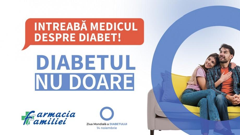 (video) Pe 14 și 15 noiembrie, Farmacia Familiei măsoară gratuit glicemia în toată țara