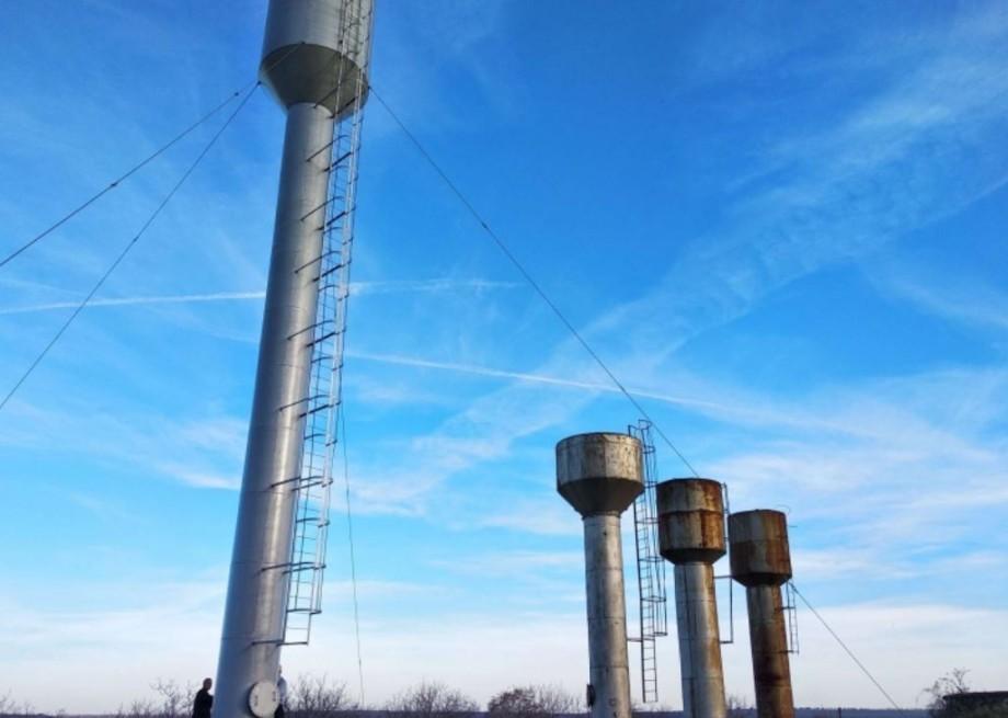 (foto) Opt rezervoare de apă, în valoare de 4 milioane de lei, au fost construite pe râul Nistru