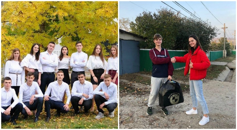 Elevii din satul Pepeni au pornit un proiect de voluntariat, menit să ajute copiii din orfelinate